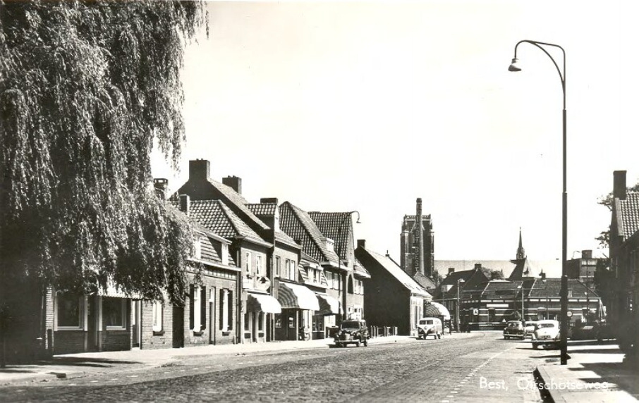 Oirschotseweg in 1955