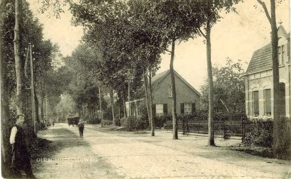 oirschotseweg in 1930